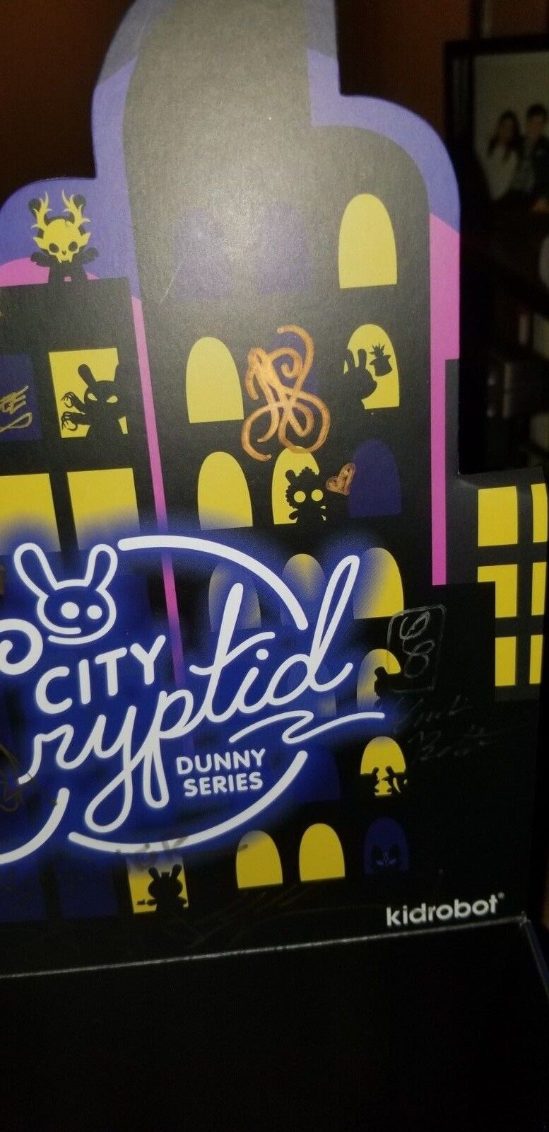 Cryptid Dunny FULL 16 SET ALL VARIANTS exc 1 SIGNED BY 8 ARTISTS Craola SKINNER