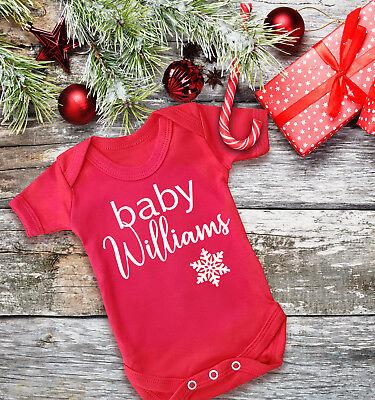 Tarjeta de anuncio de embarazo Personalizado De Navidad//Foto de escaneo de anuncio de bebé