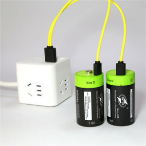 2PCS-D-Size-Rechargeable-Lithium-Batteries-1-5V-4000mAh-Micro-USB-Charging-Cable