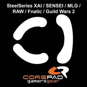 Corepad-Skatez-SteelSeries-XAI-Sensei-MLG-RAW-Fnatic-Ersatz-Teflon-Mausfuesse