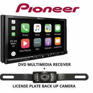 Pioneer-AVH-2300NEX-7-034-DVD-Receiver-Apple-CarPlay-Bluetooth-License-Plate-Camera