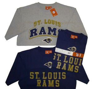 03871c042 St. Louis Rams Vintage Logo Short Sleeve T-Shirt Combo Pack Big ...