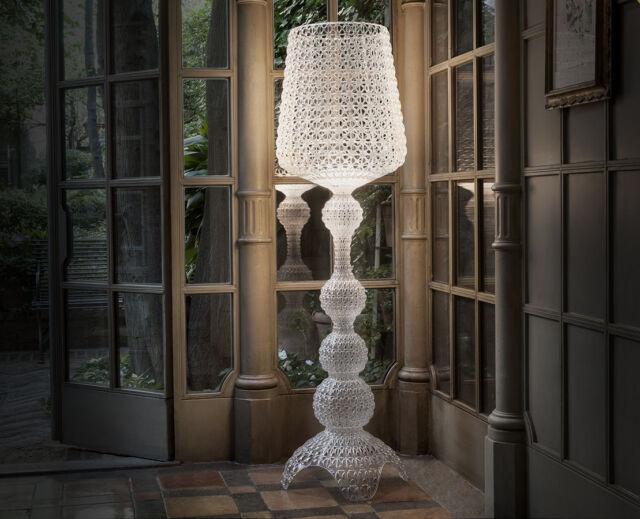 Kabuki lampada da terra di kartell cristallo ebay