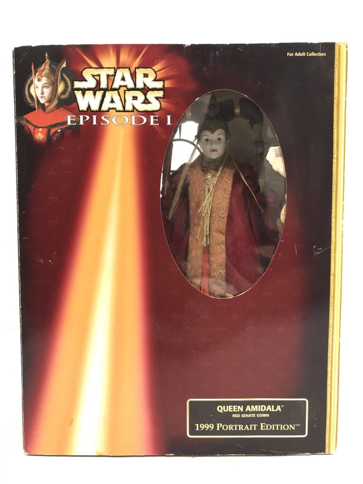 Queen Amidala 1999 Portrait Edition Collectors Doll Figure Star Wars NEW Hasbro