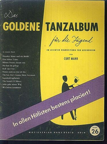 Das goldene Tanzalbum für die Jugend Band 26 Curt Mahr