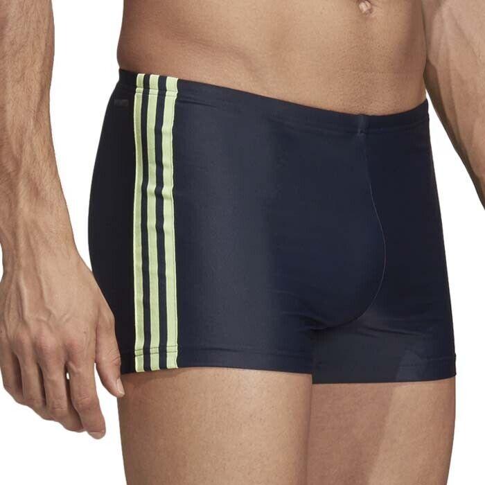 Adidas Badehose FIT Boxer 3STRIPES 3STRIPES 3STRIPES blau citrus LYCRA Gr. 6 - 10  | Good Design  | Hohe Qualität und günstig  | Online  b0a05a