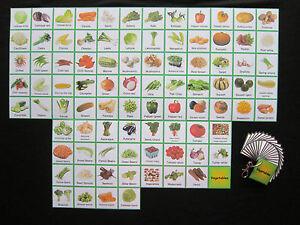 Vegetable-Cards-Lg-Pack-Autism-PECS-Non-verbal-Visual-Aids-Dementia-ADHD