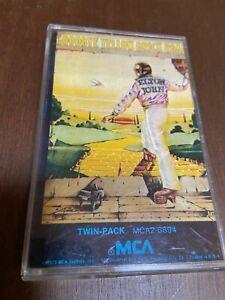 Elton-John-Goodbye-Yellow-brick-road-Cassette-Rock-Pop-Vocal-70s-FAST-SHIPPING