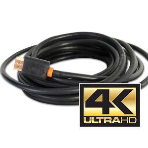 SyncWire Pro-Grade 3 Meter 4K ULTRA HD HDMI 2.0 Cable  - BluRay/Sat/HD Box