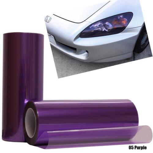 Sale Car Headlight Sticker Tint Film Taillight Vinyl Fog Light Wrap OF#uk