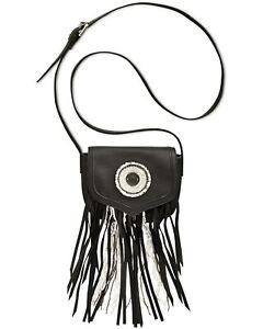 Sam-Edleman-Ariana-Womens-Fringe-and-Beaded-Crossbody-Handbag-Black