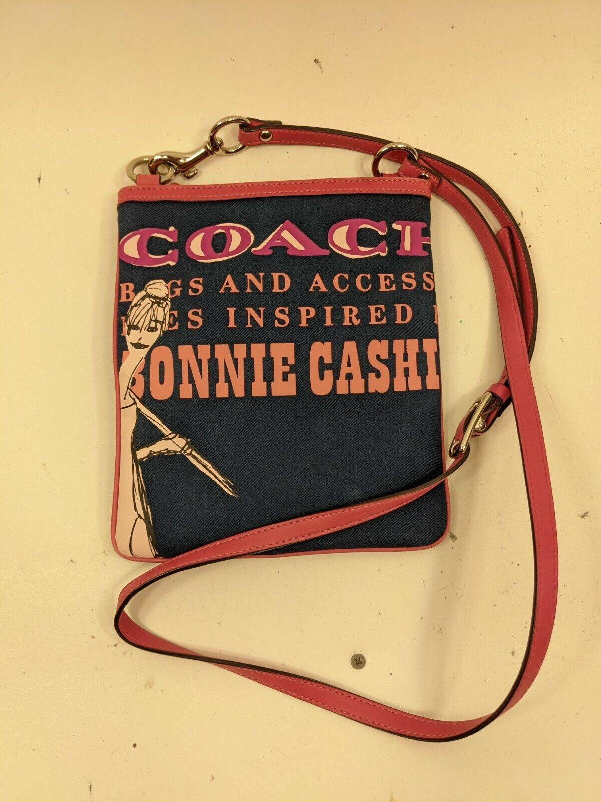 Coach 42605 Bonnie Cashin Swing Crossbody, Blue - image 1