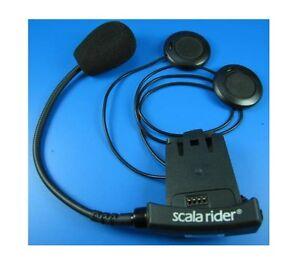 Cardo-Scala-Rider-Solo-BT-Klemm-Halter-20cm-Mikrofon-Team-Q2-Multiset-Pro