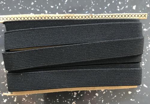13mm Black Elastic X 2 Metres Buy One Get One Free