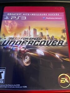 Need for Speed: Undercover (Sony PlayStation 3, 2008) (Complete)