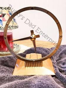 Beautifully Restored Vintage Jefferson Golden Hour Mystery Clock