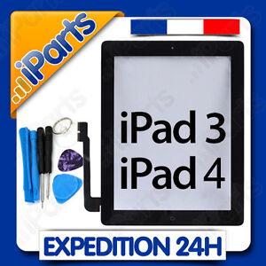 Vitre Ecran Tactile Assemble Complet Pour Ipad 3 Ipad 4 Noir