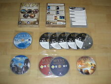MYST - The Collection Pc DVD Rom 1 2 3 4 & 5  I II III IV V Complete  FAST POST