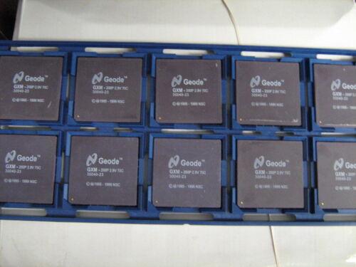 NEW STOCK GEODE GXM 233P OEM CPU 233MhZ Socket 7 PROCESSOR USA Seller