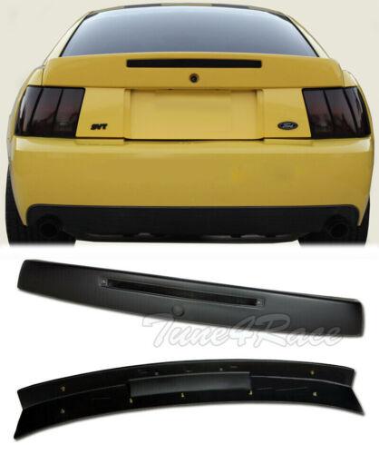 For 99-04 Ford Mustang Rear Wing Trunk Spoiler w// Brake Light Insert CBR Style