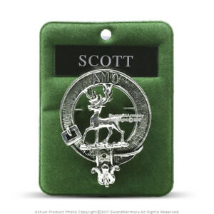 Details about Clan Scott Scottish Crest Badge Brooch Pin for Clothes  Costume Gift Souvenir