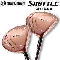 For Ladies Maruman Golf Japan Shuttle I4000ar Ii Fairway Wood Carbon Shaft