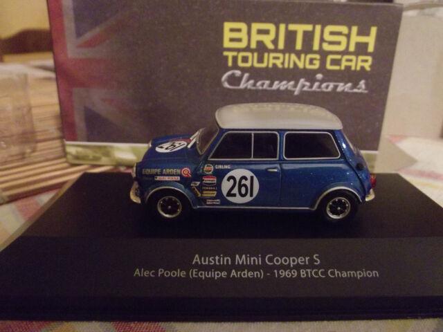 AUSTIN MINI COOPER S A.POOLE 1969 CHAMPIONS BTCC 1.43 promo