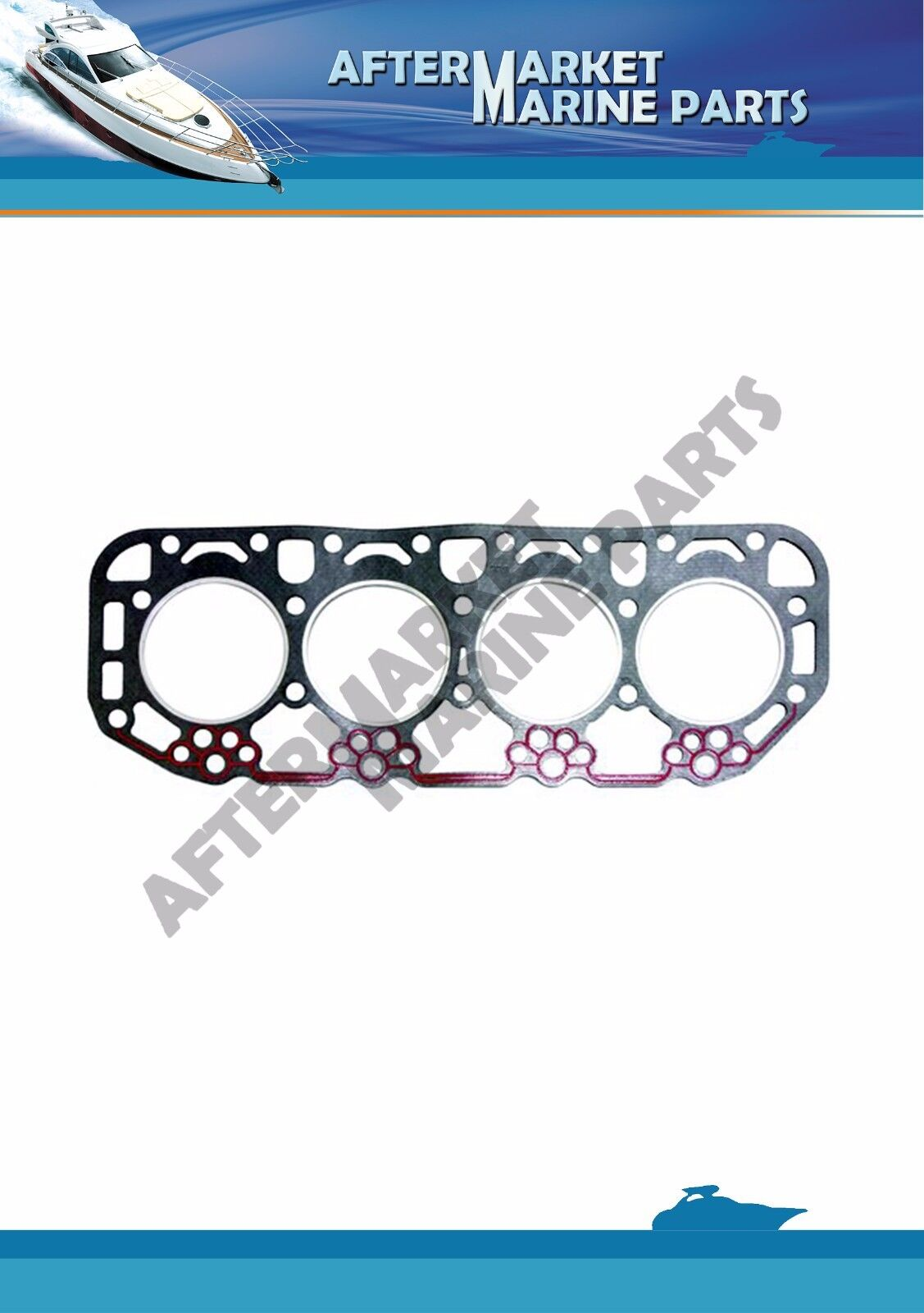 Volvo Penta Zylinderkopfdichtung AQD21A AQD21B MD21A MD21B Rplcs   859152 829531