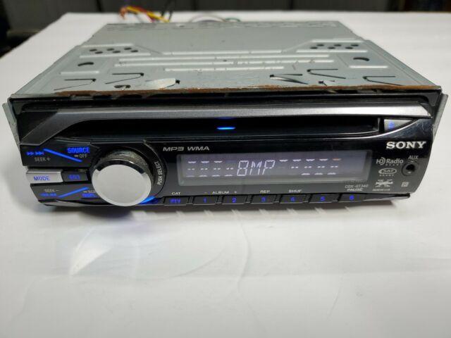 SONY CDX-GT09 FACEPLATE