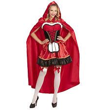 SMIFFYS Costume vestito Cappuccetto Rosso carnevale donna adulto 110 27043S