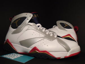 check out ec126 546d8 Image is loading Nike-Air-Jordan-VII-7-Retro-OLYMPIC-WHITE-