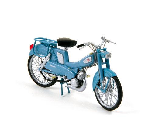 miniature mobylette Motobecane AV65 1965 bleu NOREV 182056 1//18 eme