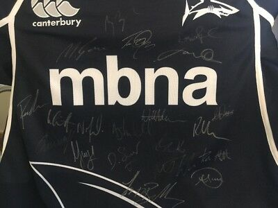 97872f13f85 Sale Sharks Signed Squad Shirt 2012/13 Rugby Union Premiership Team  Autographs