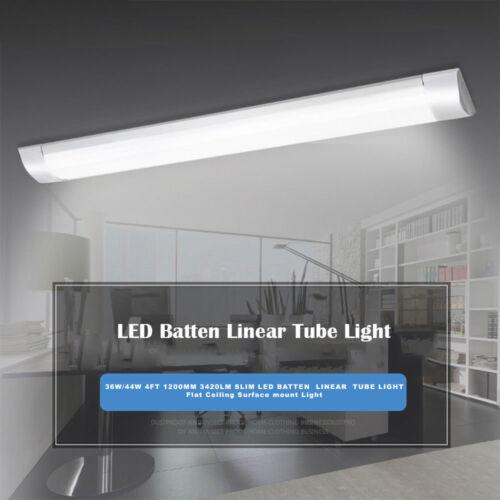 1200 mm 3420 LM Slim DEL BATTEN Linéaire Tube Light Plate lampe plafond 36W//44W 4 ft environ 1.22 m