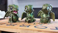 Set Of 3 Baby Dragons, For Fairy Gardens