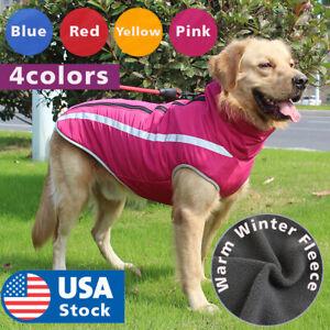 Waterproof-winter-dog-warmer-coat-Vest-jacket-dog-warm-clothes-padded-Large-dogs