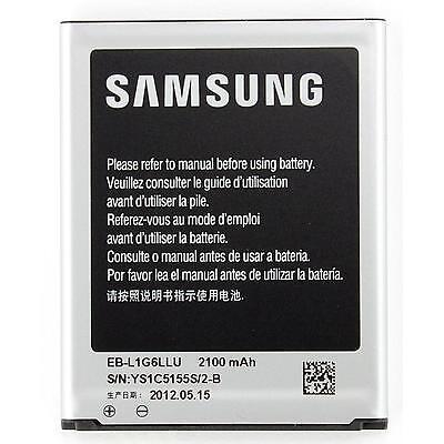 New 100% Genuine Samsung EB-L1G6LLU 2100 mAh Battery for Galaxy S3 SIII GT-i9300