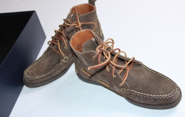 Polo  Ralph Lauren Men Suede  Boots Size 10 Made in USA