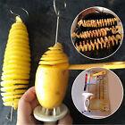 Potato Spiral Cutter Slicer Chips Twist Shredder Gadget Kitchen Accessories Tool