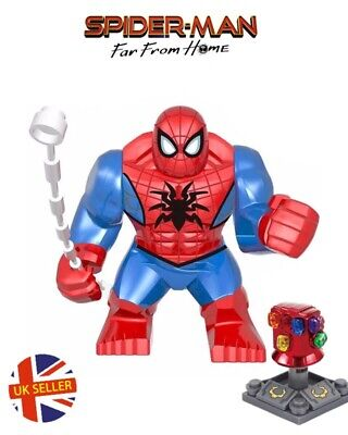 Marvel Far From Home Spider-Man Mini Figure Stealth Red-and-Black Suit UK Seller