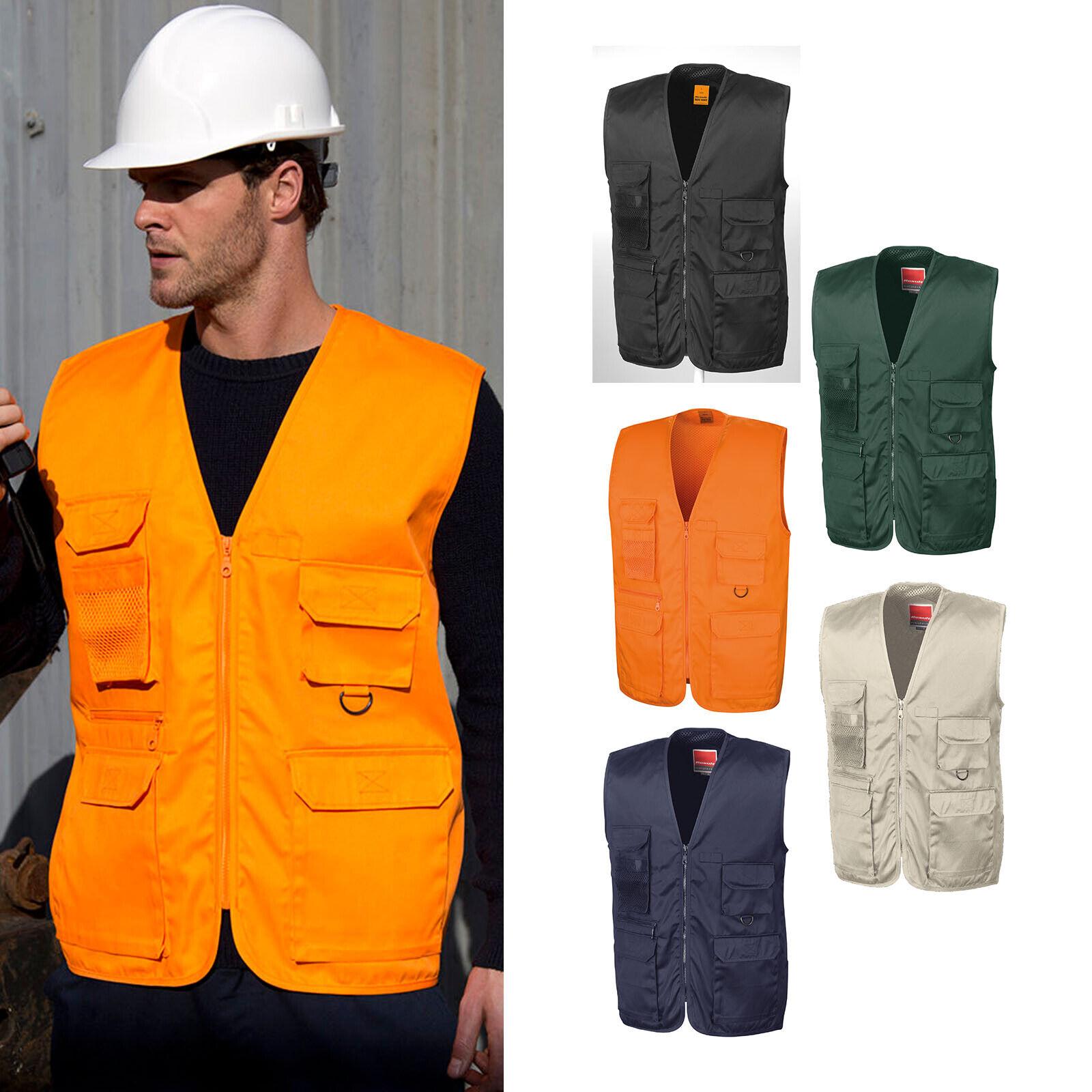 Result Work-Guard Adventure Safari Waistcoat R045X