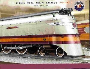 2006-VOLUME-1-LIONELTRAINS-CONSUMER-CATALOG