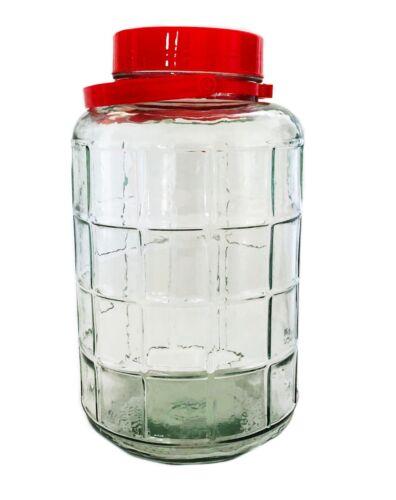 Vorratsgläser Glas Aufbewahrung Tursu Behälter  Gurkenglas mit Plastikdeckel