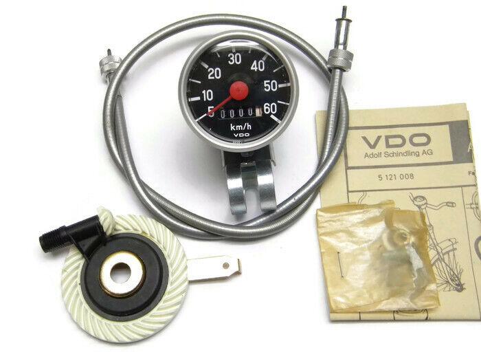 VDO Vintage Bicycle Analog Speedometer 26  60km h NOS (936)