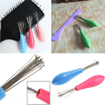 Hot Sale 1PC Beauty Tool Comb Hair Brush Cleaner Pick Plastic Handle Brand New