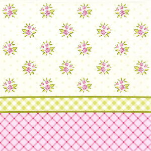 4x Paper Napkins For Decoupage Decopatch English Floral Wallpaper Ebay