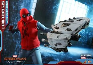 Marvel-Far-from-Home-Spider-Man-Homemade-Suit-Sixth-Scale-Figure-1-6-Hot-Toys