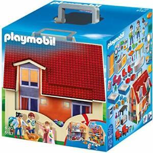 Playmobil 5167 La maison contient 3 personnages neuf Maison Transportable