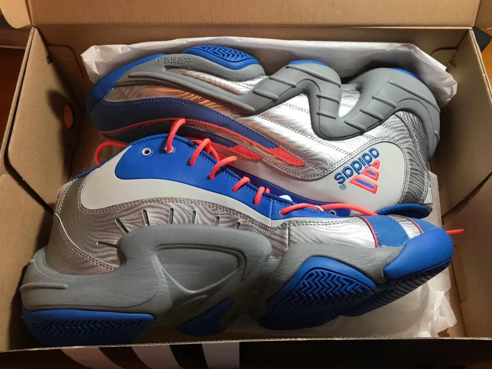 NEW Adidas REAL DEAL Mens Size 13 Genuine Basketball shoes IN BOX  Must See