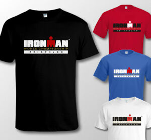 quality design e9acd 17094 Details zu IRONMAN TRIATHLON WORLD CHAMPIONSHIP - Men's T SHIRT Sizes to 4XL